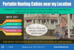 Portable Hunting Cabins near my location | shedcard.com