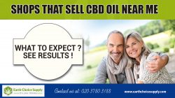 Shops that sell cbd oil near me | Call Us – 416-922-7238 | earthchoicesupply.com
