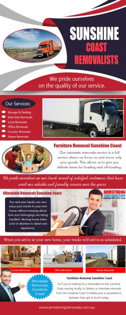 Sunshine coast removalist | armstrongremovals.com.au