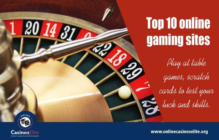 Top 10 online gaming sites