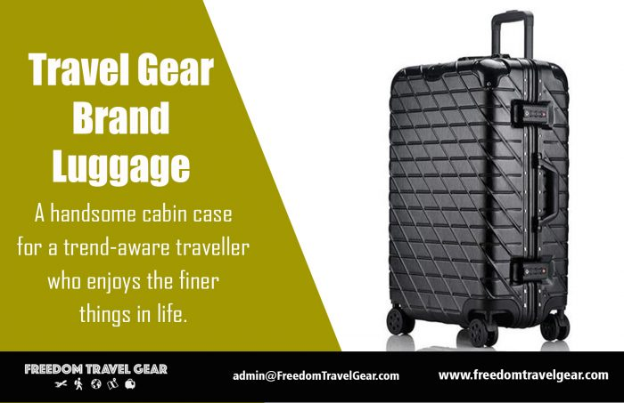 Travel Gear Brand Luggage