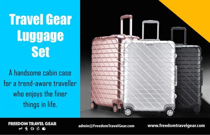 Travel Gear Luggage Set