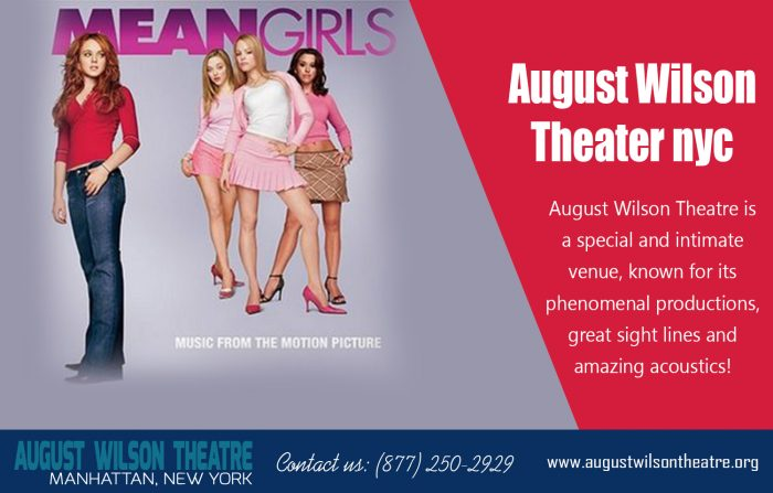 August Wilson Theater Nyc http://www.augustwilsontheatre.org Call Us : 877-250-2929