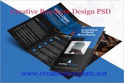 Creative Brochure Design PSD 2018 |Creativetemplate