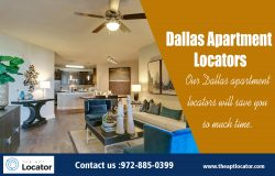 Dallas Apartment Locators | 972 885 0399 | theaptlocator.com