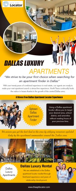 Dallas Luxury Apartments | 972 885 0399 | theaptlocator.com