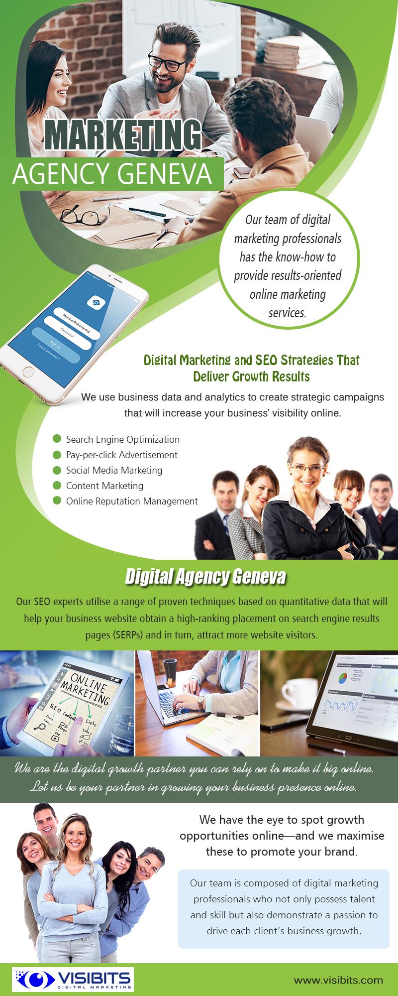 Digital Marketing Agency Geneva | Call — 41 22 575 39 51 | visibits.com