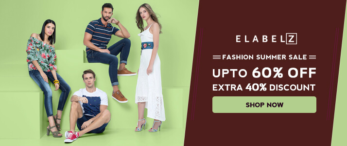 85% Off on All Fashion Collection @Elabelz