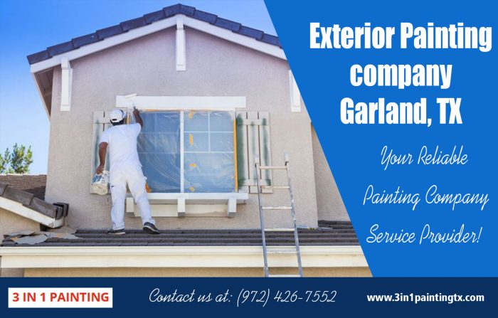 Exterior Painting company Garland, TX|http://3in1paintingtx.com/