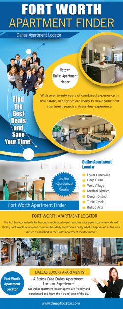 Fort Worth Apartment Finder | 972 885 0399 | theaptlocator.com