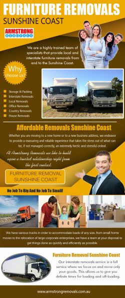 Furniture Removals Sunshine Coast|https://armstrongremovals.com.au/