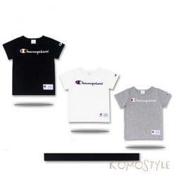 チャンピオン Tシャツ キッズ CHAMPION 夏向け t シャツ コットン 韓国 芸能人愛用 ファッション