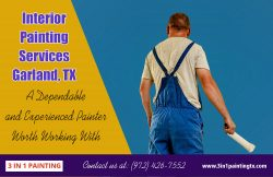 Interior Painting services Garland, TX|http://3in1paintingtx.com/