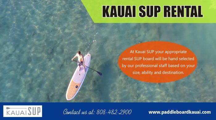 Kauai SUP Rental