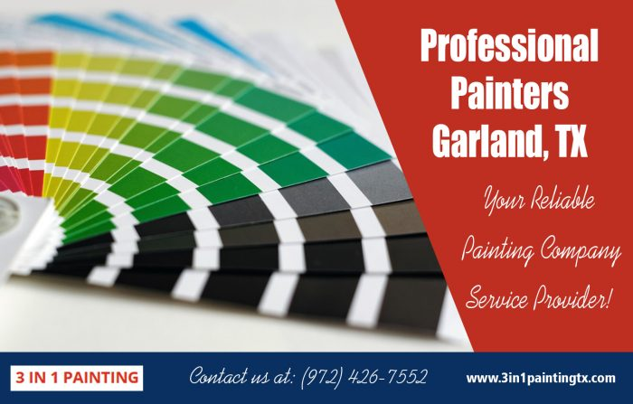 Professional painters Garland, TX|http://3in1paintingtx.com/