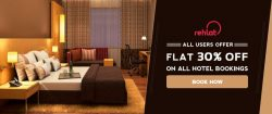 Flat 30% Off on All Hotel Bookings @Rehlat