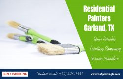 Residential painters Garland, TX|http://3in1paintingtx.com/