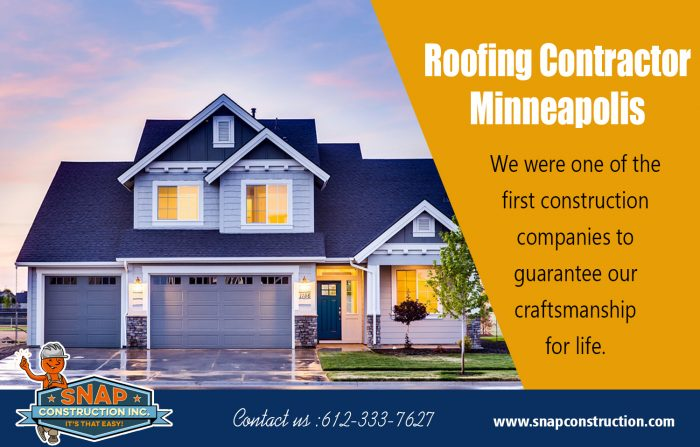 Roofing Contractor Minneapolis | snapconstruction.com