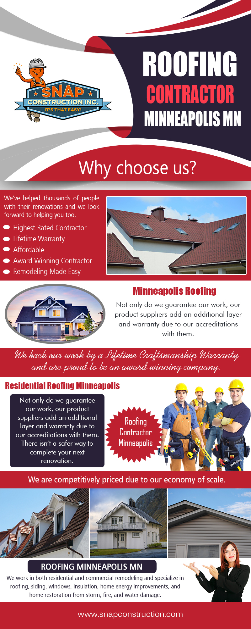 Roofing Company Minneapolis | snapconstruction.com