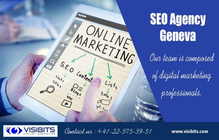 SEO Agency Geneva | Call — 41 22 575 39 51 | visibits.com