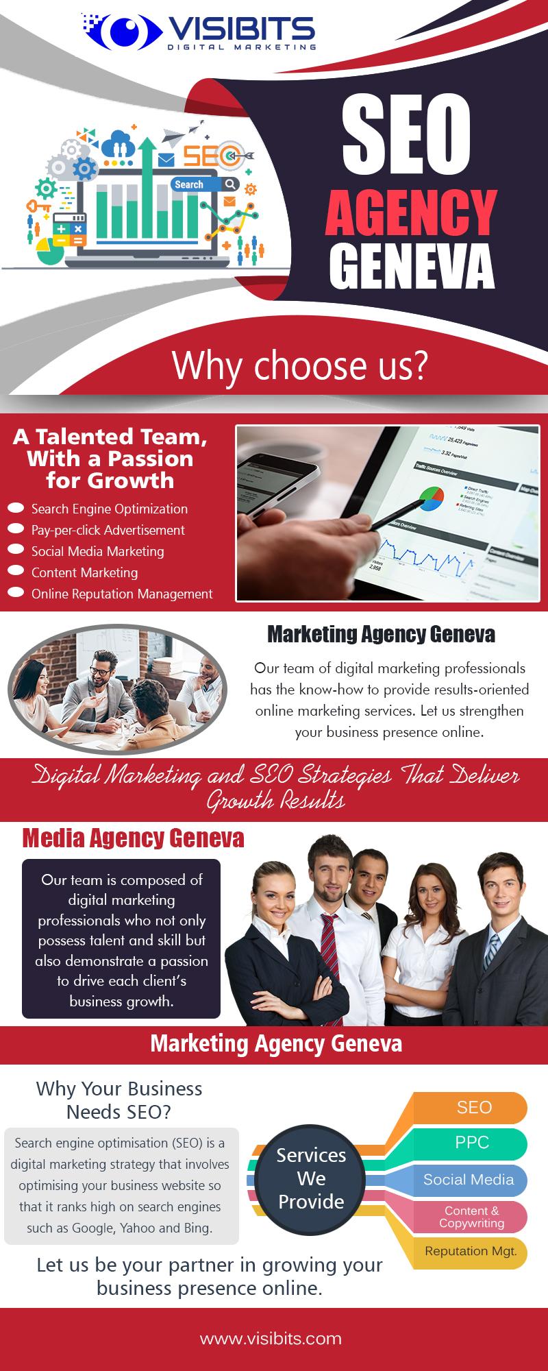 SEO Agency in Geneva | Call — 41 22 575 39 51 | visibits.com