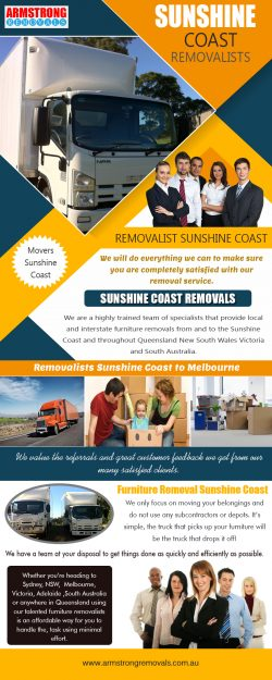 Sunshine Coast Removalists|https://armstrongremovals.com.au/