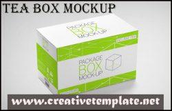 Best Tea Box Mockup 2018 |Creative Template