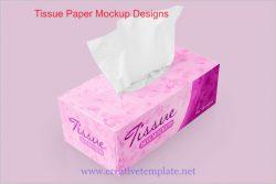Tissue Paper Mockup Designs | Creativetemplate