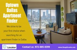 Uptown Dallas Apartment Finder | 972 885 0399 | theaptlocator.com