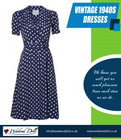 Vintage 1940s dresses | 2036378223 | weekenddoll.co.uk