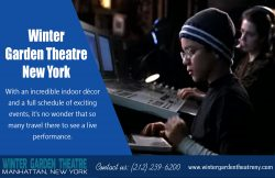Winter Garden Theatre In New York