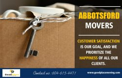 Professional movers in Abbotsford services when you need professionals at https://goodplacemovin ...