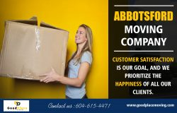 Moving companies in Abbotsford with all aspects of removals at https://goodplacemoving.com/
