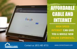 Affordable Cable And Internet