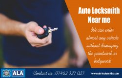 Auto Locksmith Near me | Call – 07462 327 027 | uk-locksmiths.com