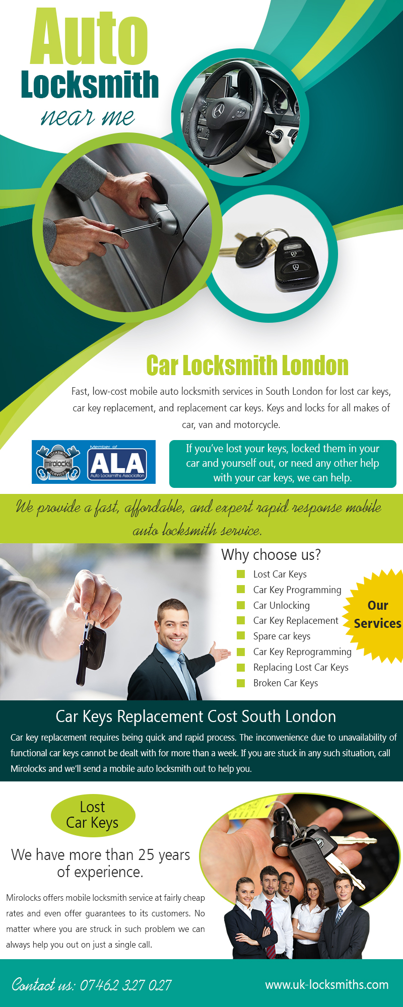 Auto Locksmith UK | Call – 07462 327 027 | uk-locksmiths.com
