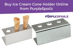 Buy Ice Cream Cone Holder Online from PurpleSpoilz