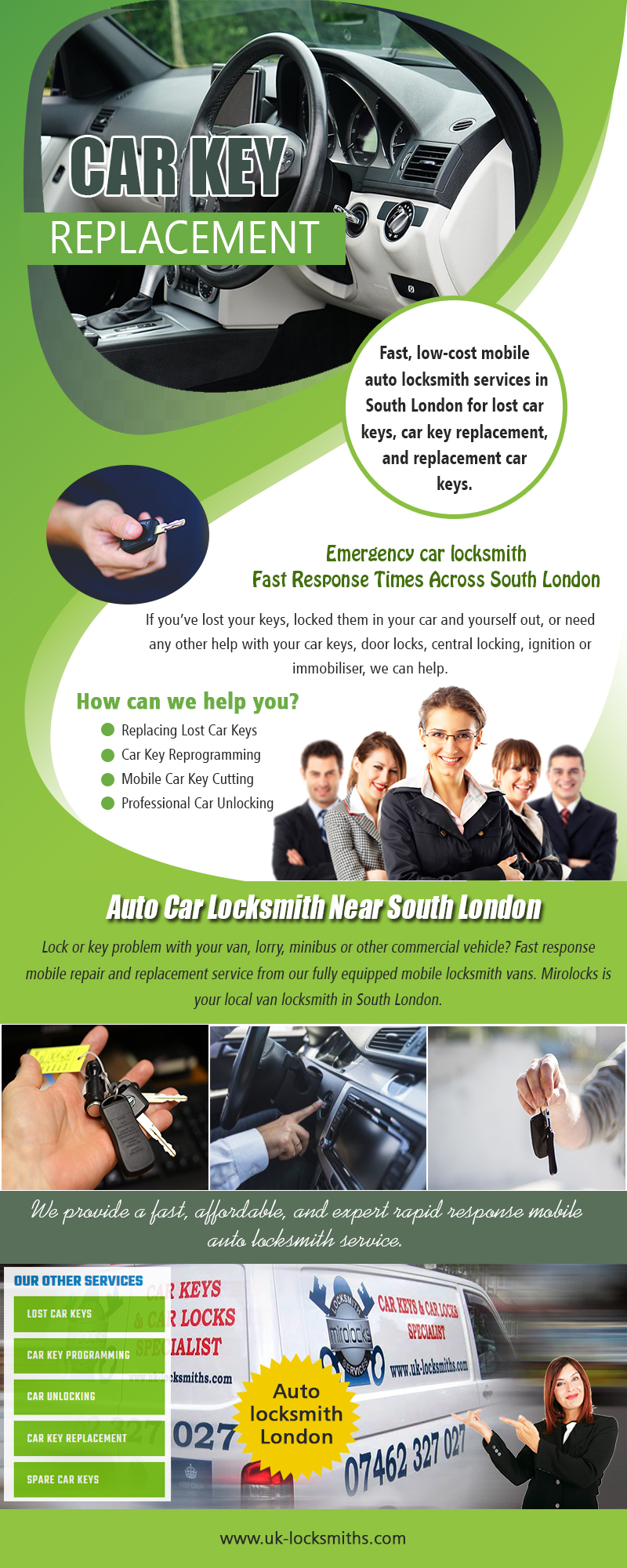 Car Key Replacement Near Me | Call – 07462 327 027 | uk-locksmiths.com