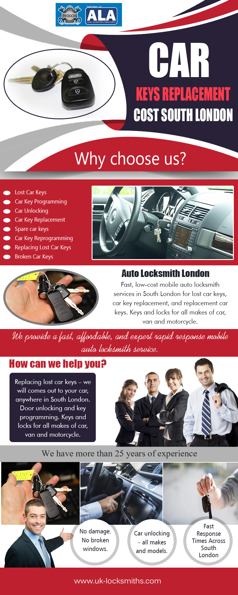 Car Keys Replacement Cost South London | Call – 07462 327 027 | uk-locksmiths.com