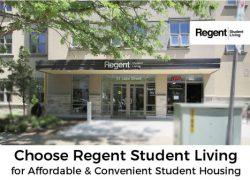 Choose Regent Student Living for Affordable & Convenient Student Housing