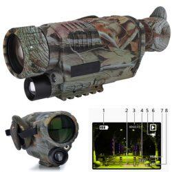 5×40 Monoculaire numérique de vision nocturne camouflage
