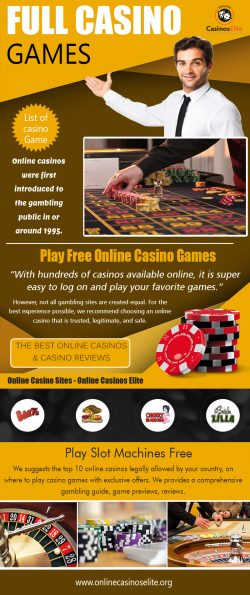 Full Casino Games | onlinecasinoselite.org