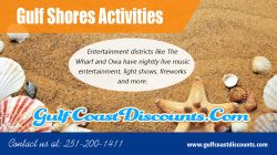 Gulf Shores Activities | Call 251 200 1411 | gulfcoastdiscounts.com