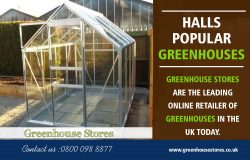 Halls Popular Greenhouses toughened Glass | 800 098 8877 | greenhousestores.co.uk
