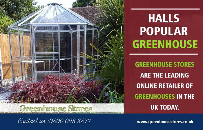 Halls Popular toughened Glass | 800 098 8877 | greenhousestores.co.uk