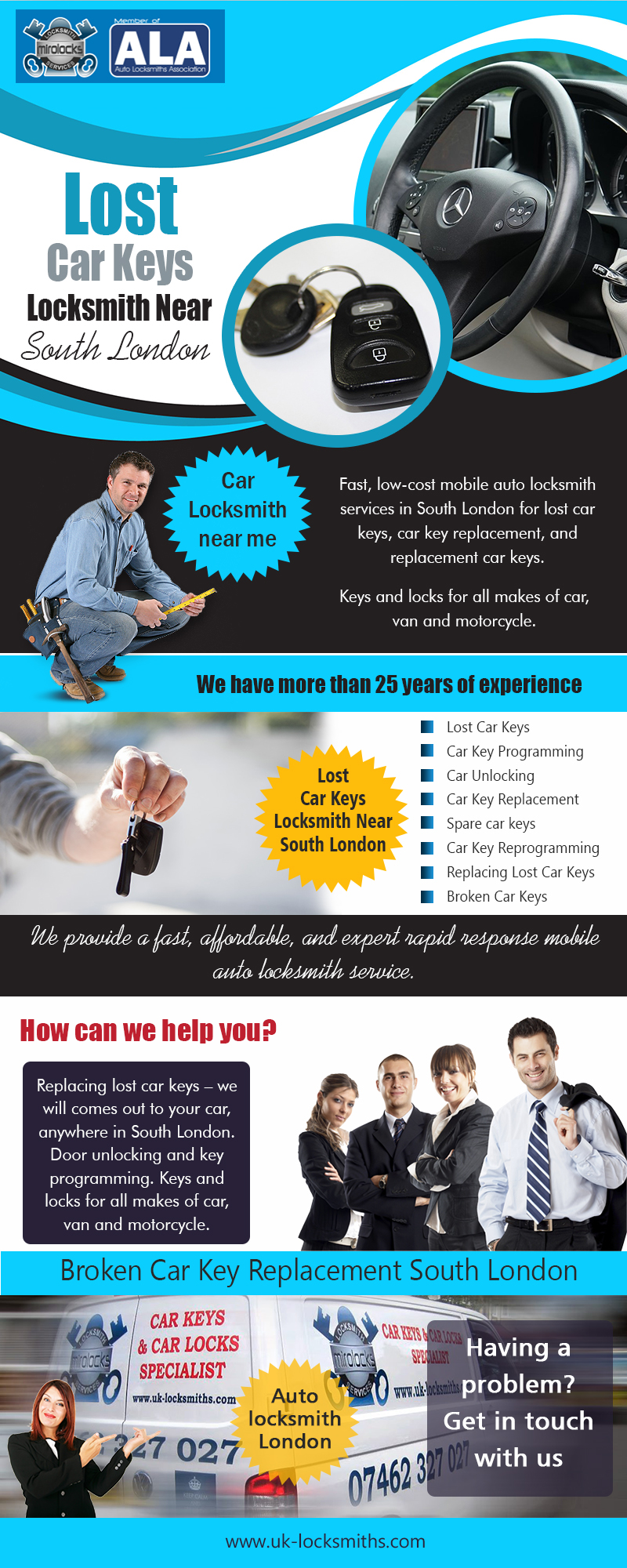 Lost Car Keys Locksmith Near South London | Call – 07462 327 027 | uk-locksmiths.com