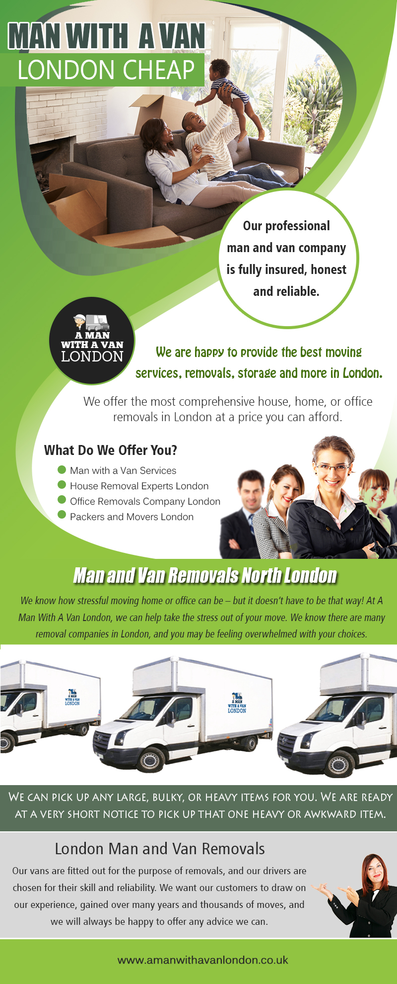Man With Van London Prices | amanwithavanlondon.co.uk