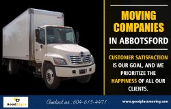 Abbotsford movers that can assist you for your next move at https://goodplacemoving.com/