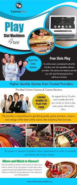 Play Slot Machines Free | onlinecasinoselite.org