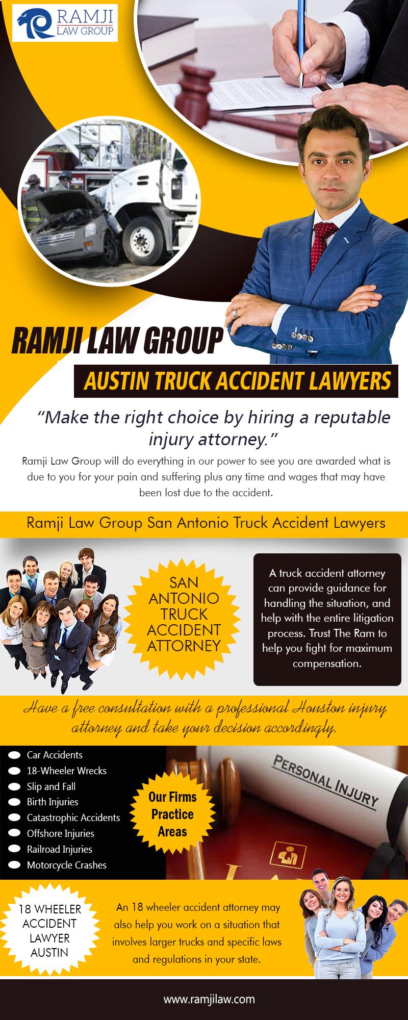 Ramji Law Group Austin Truck Accident Lawyers|https://www.ramjilaw.com/